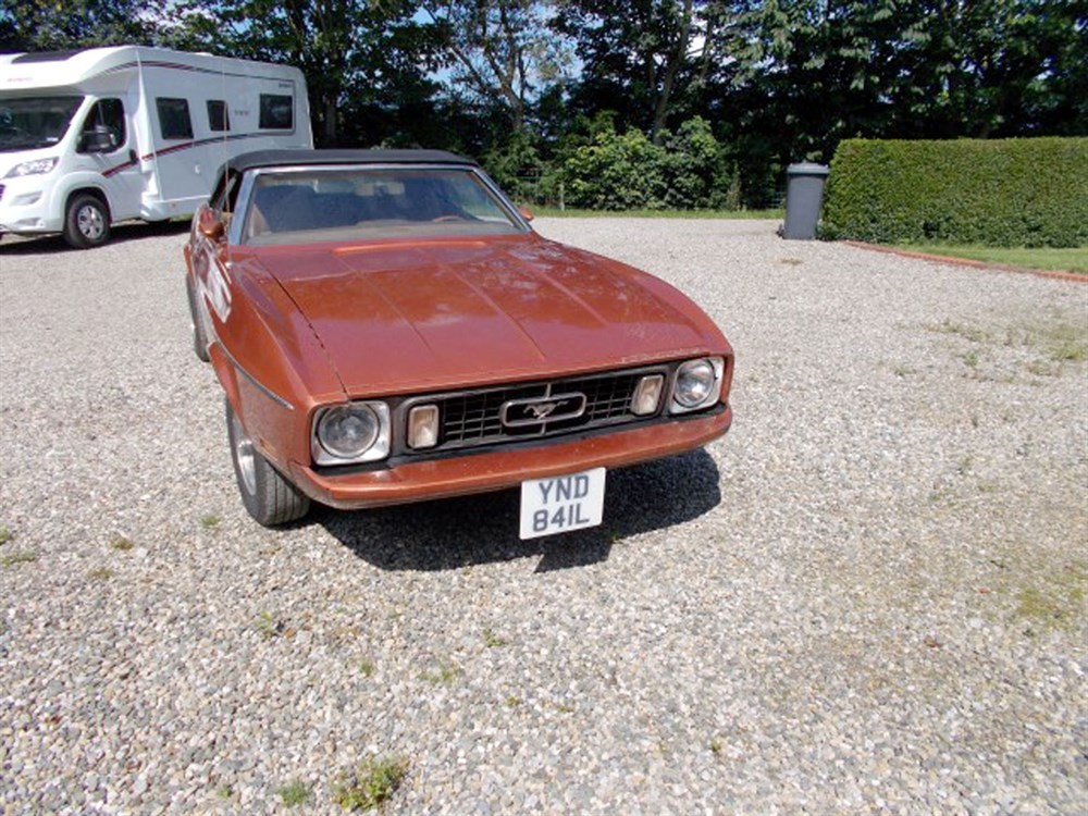 Lot 55-1973 Ford Mustang 302 Convertible