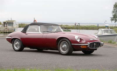 Lot 94-1972 Jaguar E-Type V12 Roadster