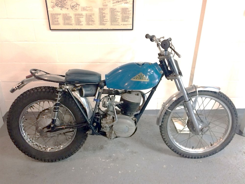 Lot 40-1968 Cotton 250cc Trials