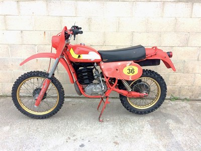 Lot 43-1980 Maico GS 440