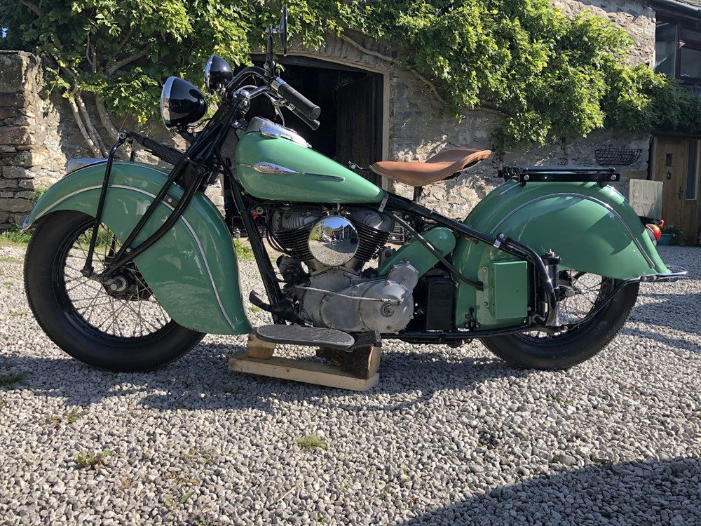 Lot 91-1941 Indian Chief