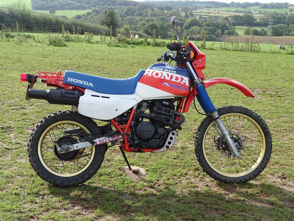 Lot 10-1986 Honda XL600R 'Paris-Dakar'
