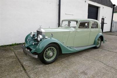 Lot 100-1937 Rolls-Royce 25/30 Sports Saloon
