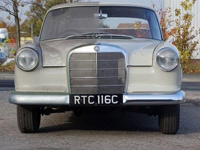 Lot 41 - 1965 Mercedes-Benz 190 C