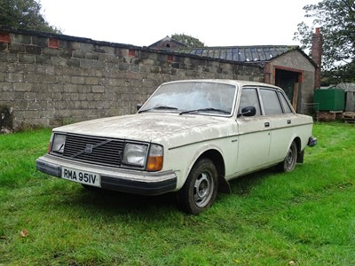 Lot 91 - 1980 Volvo 244 DL