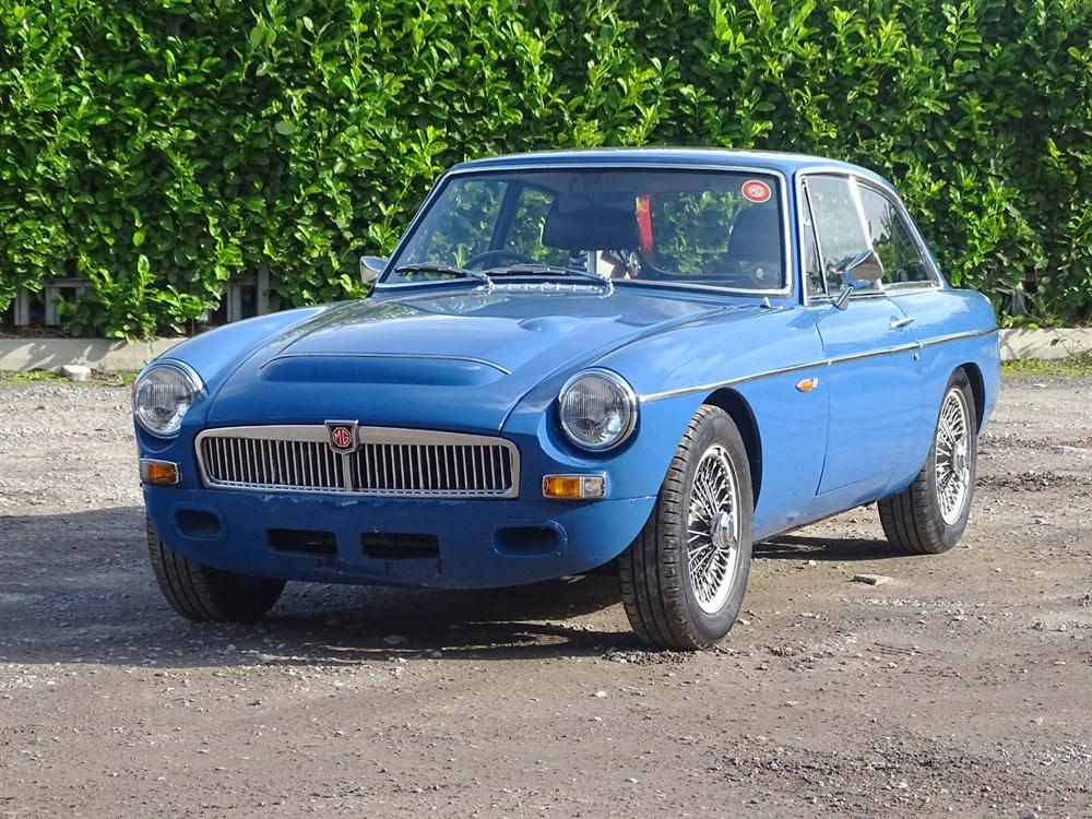 Lot 71-1968 MG C GT