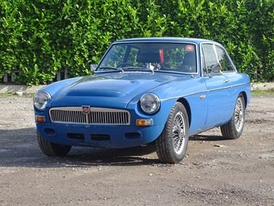 Lot 71 - 1968 MG C GT
