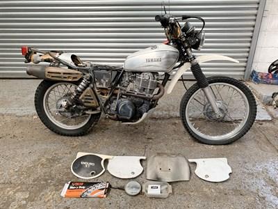 Lot 16-c.1981 Yamaha XT500