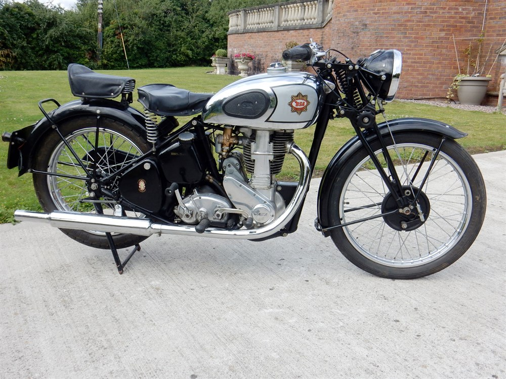 Lot 67-1939 BSA M24 Gold Star
