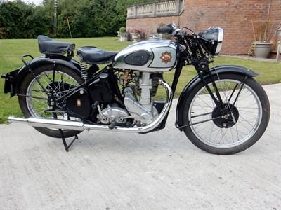 Lot 67-1939 BSA M24 Gold Star