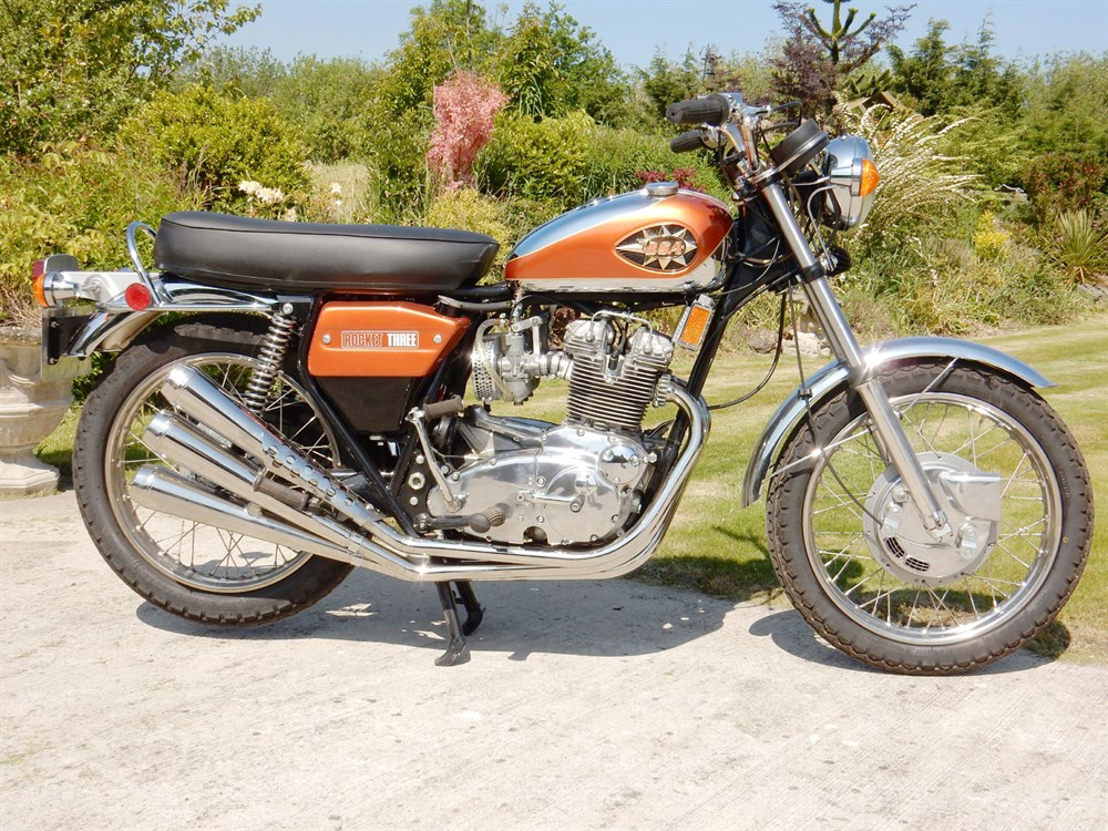 Lot 68-1971 BSA Rocket 3 MK2