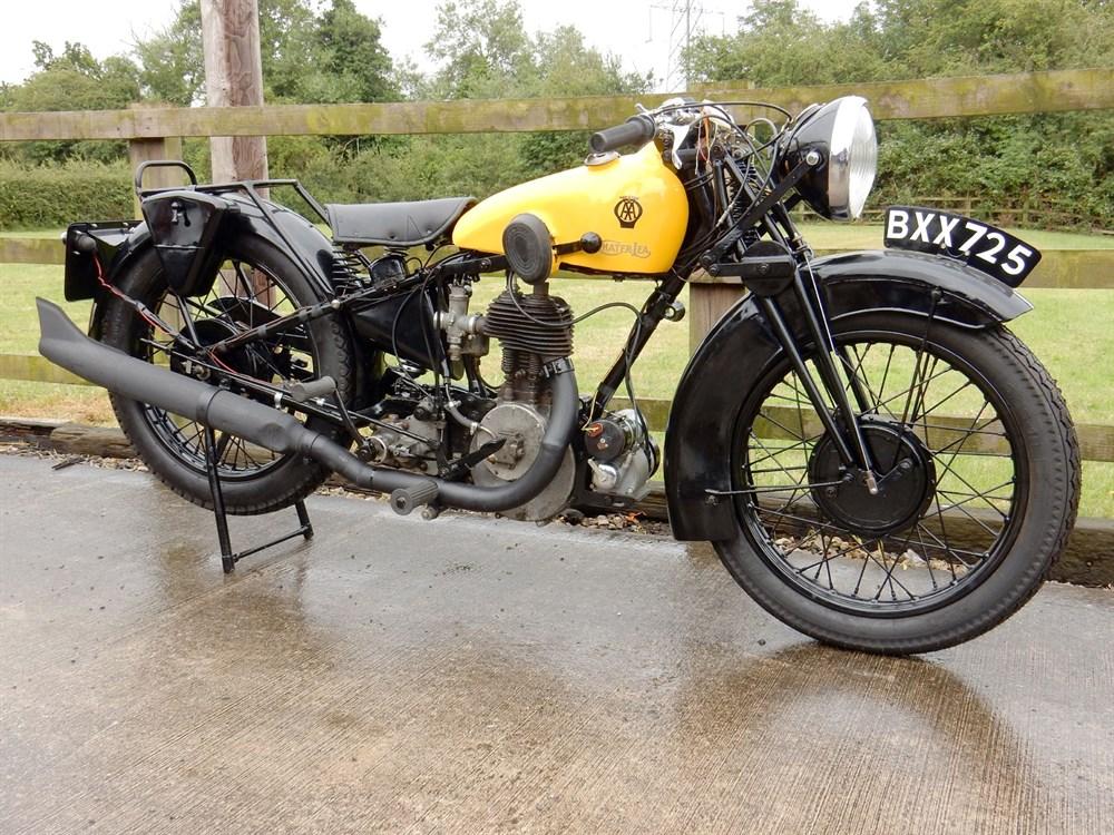 Lot 70-1935 Chater-Lea 545cc 'AA Patrol'