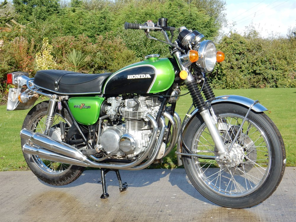 Lot 97-1972 Honda CB500 K1