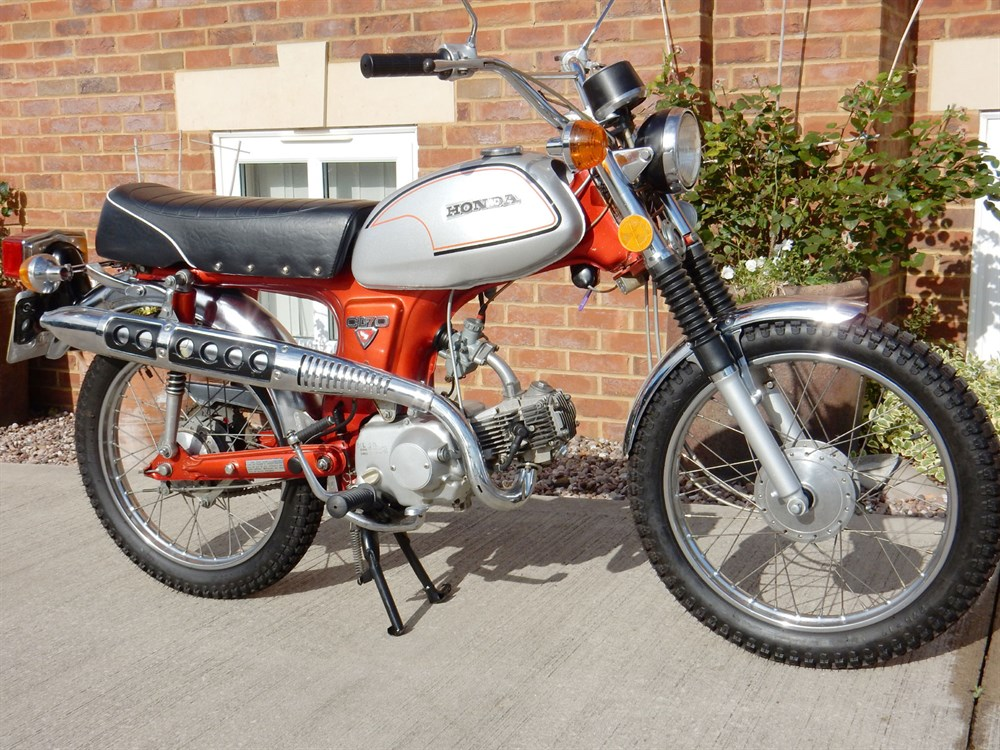Lot 98 - 1971 Honda CL70