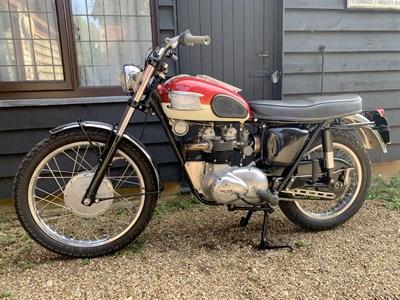 Lot 21-1963 Triumph T100 Tiger