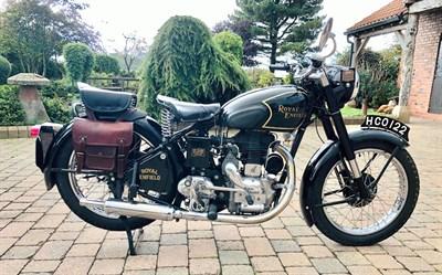 Lot 66-1952 Royal Enfield Model G