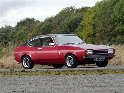 Lot 37-1977 Ford Capri 3.0 Ghia