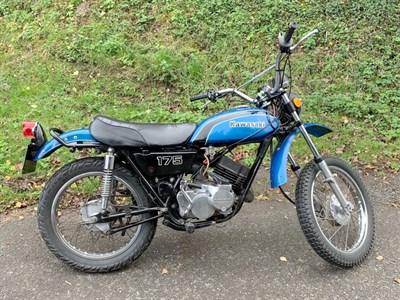 Lot 78-1974 Kawasaki F7-D
