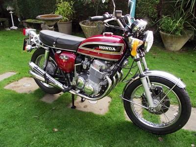 Lot 54-1975 Honda CB750 K6