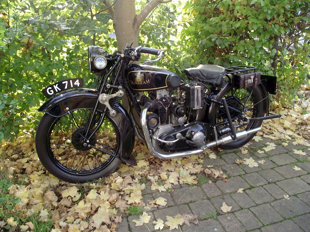 Lot 77-1930 Sunbeam Model 9