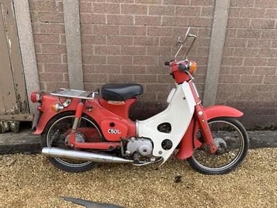 Lot 2-1982 Honda C50