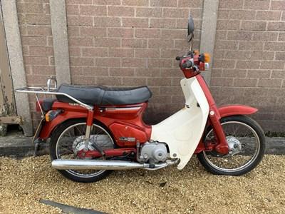 Lot 3-1988 Honda C90