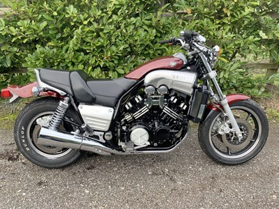 Lot 65-1986 Yamaha VMX1200 V-Max
