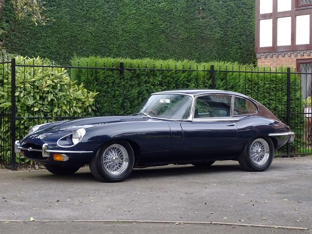Lot 27-1968 Jaguar E-Type 4.2 2+2