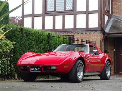 Lot 28-1976 Chevrolet Corvette Stingray