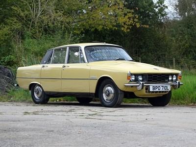 Lot 109-1973 Rover P6 3500