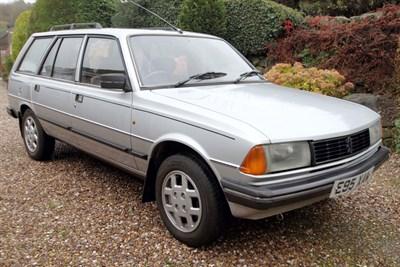 Lot 89-1987 Peugeot 305 Estate