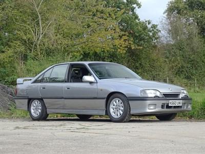 Lot 108-1993 Vauxhall Carlton GSi 3000