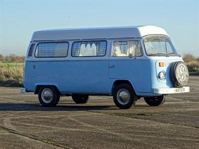 Lot 13-1977 Volkswagen Type 2 Camper Van