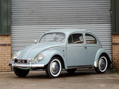 Lot 107-1956 Volkswagen Beetle 1200