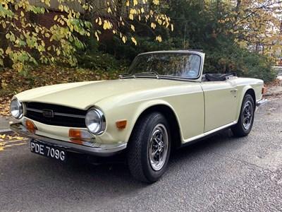 Lot 75 - 1969 Triumph TR6