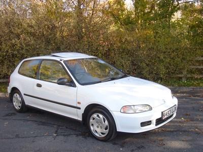Lot 44-1993 Honda Civic ESi