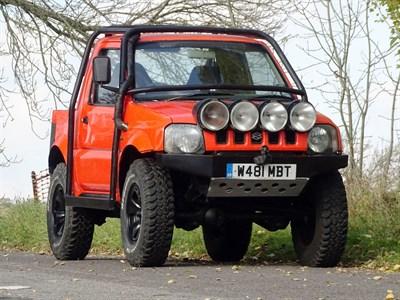 Lot 12-2000 Suzuki Jimny 'KAP Landmaster'