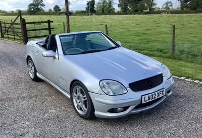 Lot 31 - 2002 Mercedes-Benz SLK 32 AMG