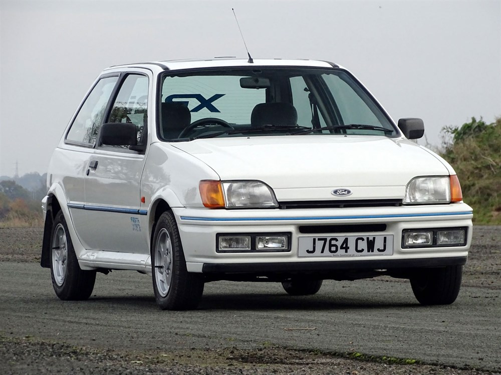 Lot 88-1991 Ford Fiesta XR2i