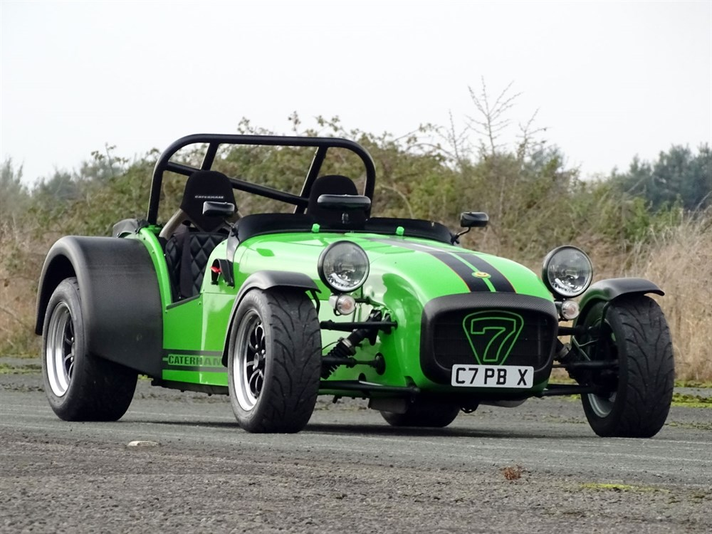 Lot 42-2000 Caterham Seven 1.8 Superlight
