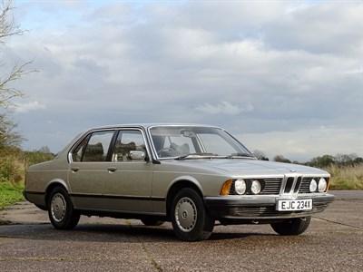Lot 96 - 1981 BMW 732i