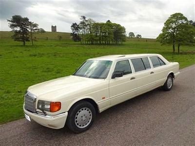 Lot 45-1987 Mercedes-Benz 500 SE Limousine