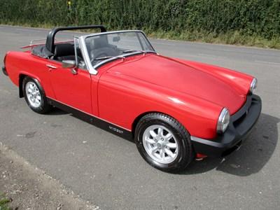 Lot 55-1976 MG Midget 1500