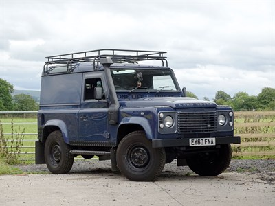 Lot 106-2010 Land Rover Defender 90 2.4 TDCi