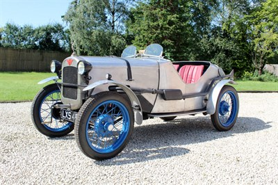 Lot 22-1936 Austin Seven Ulster Evocation