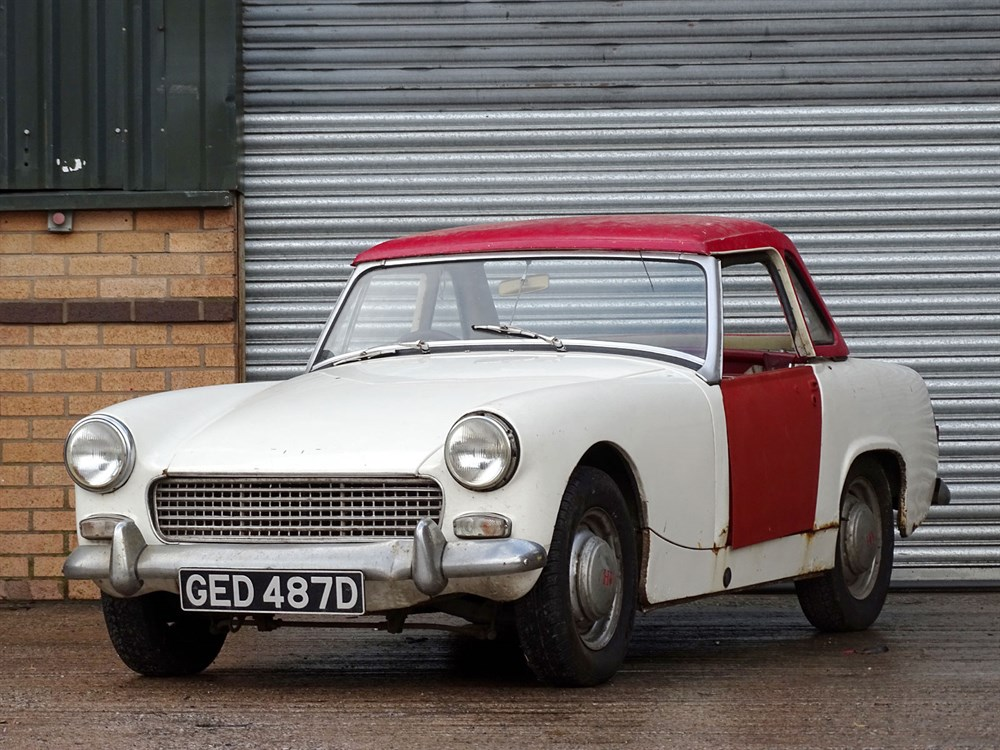 Lot 1-1966 Austin-Healey Sprite MKIII