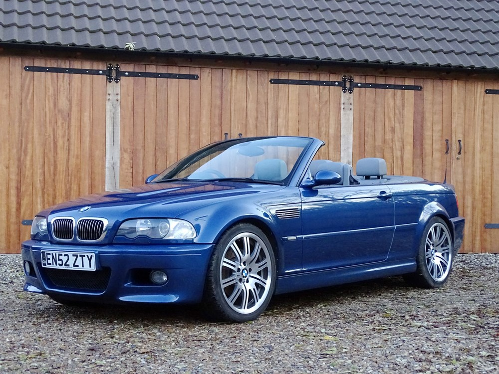 Lot 72-2002 BMW M3 Convertible