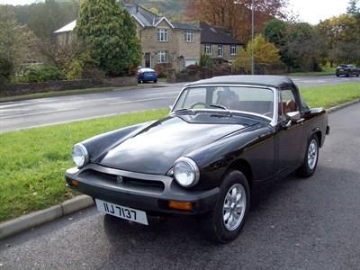 Lot 102-1977 MG Midget 1500