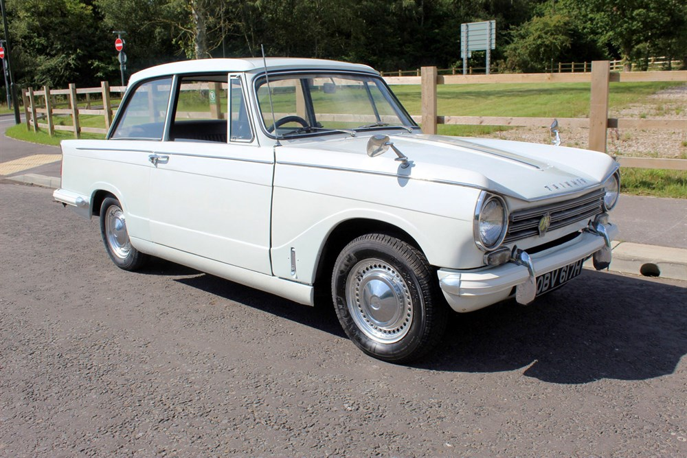 Lot 9-1970 Triumph Herald 13/60 Saloon