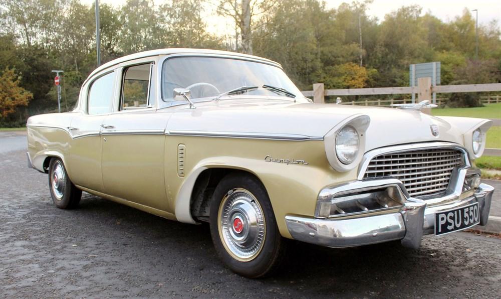 Lot 18-1956 Studebaker Champion